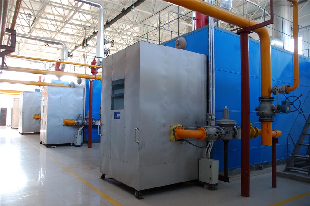唐家岭燃气锅炉房安装2台14mw及2台29mw的燃气热水锅炉房.